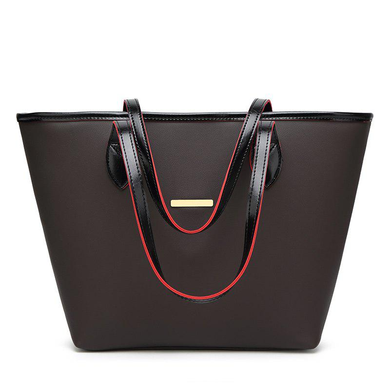 Shops Fashion Simple Tote Bag Casual Handbag with A Large Bag