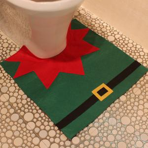 Creative Christmas Decoration 3PCS Wizard Toilet Cover Sets -