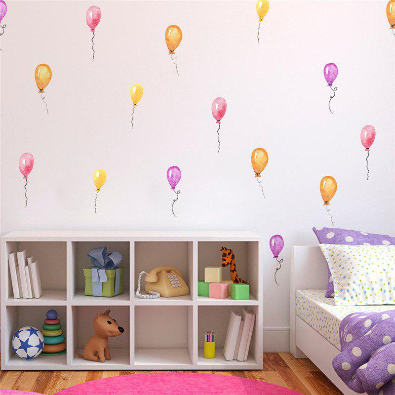 2018 36pcs Of Color Balloon Wall Stickers For Home Decoration In