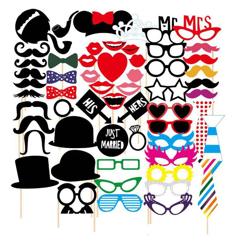 Sale 58pcs Funny Take Pictures Props Christmas Festival Event Party Decor