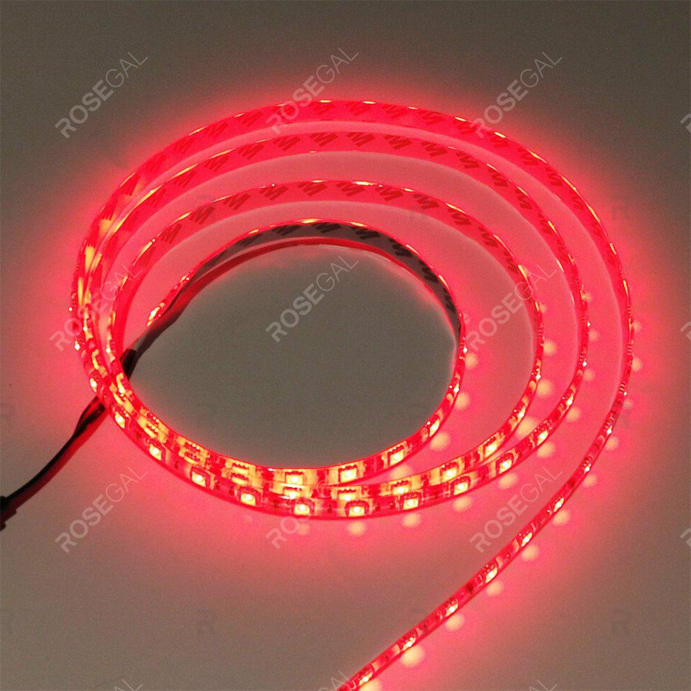 ZDM 1M DC 12V 15W 60 x 5050 SMD Light LED StripHOME<br><br>Color: RED LIGHT; Type: LED Strip Light; Length ( m ): 1; Light color: Red light; Wattage (W): 15; Voltage: DC12V; Power Supply: 12V; Features: Festival Lighting,Linkable; Width( mm ): 10mm; Waterproof Rate: IP20; Light Source: 5050 SMD,LED; Beam Angle: 120; LED Quantity: 60; Color Temperature or Wavelength: RGB;