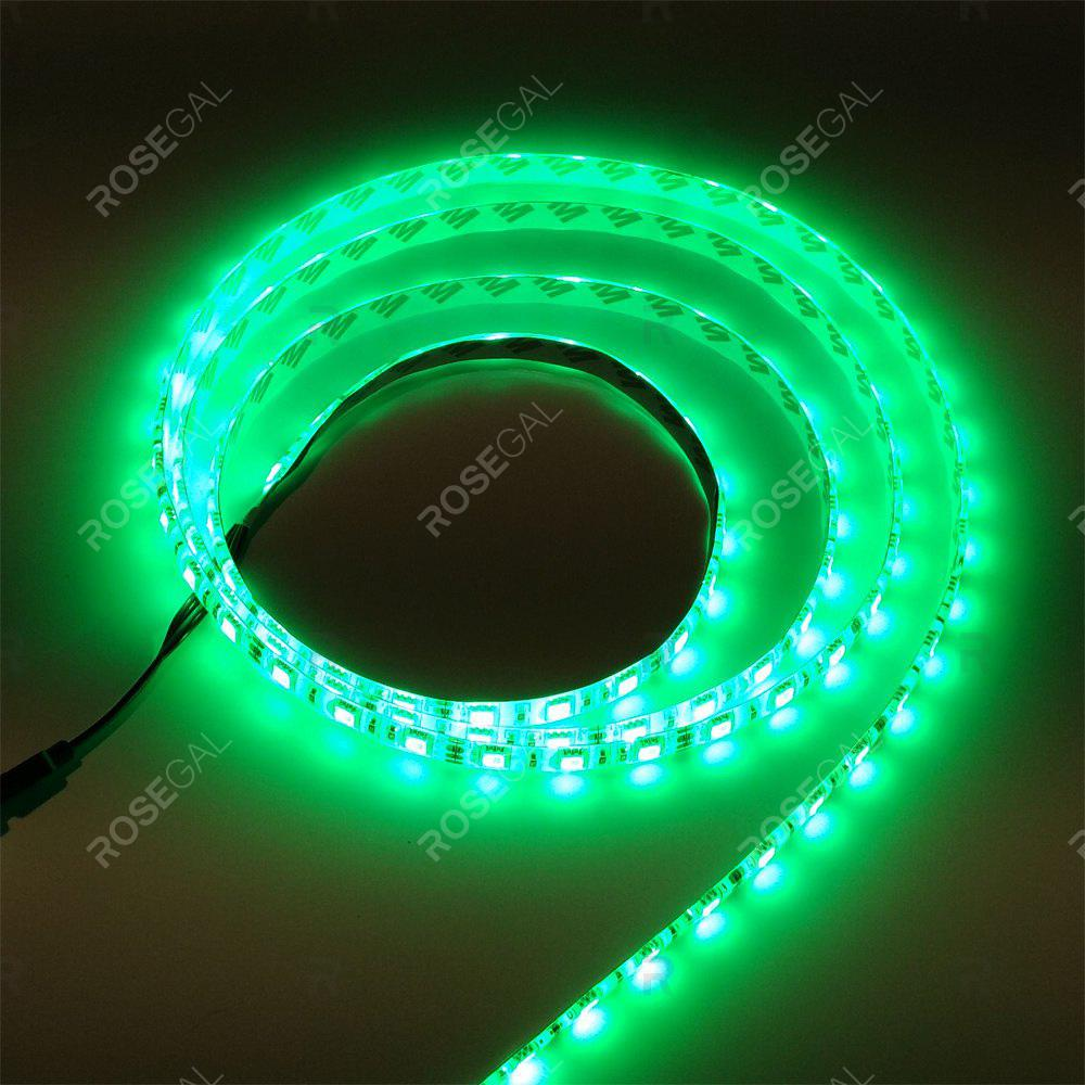 ZDM 1M DC 12V 15W 60 x 5050 SMD Light LED StripHOME<br><br>Color: GREEN LIGHT; Type: LED Strip Light; Length ( m ): 1; Light color: Green light; Wattage (W): 15; Voltage: DC12V; Power Supply: 12V; Features: Festival Lighting,Linkable; Width( mm ): 10mm; Waterproof Rate: IP20; Light Source: 5050 SMD,LED; Beam Angle: 120; LED Quantity: 60; Color Temperature or Wavelength: RGB;