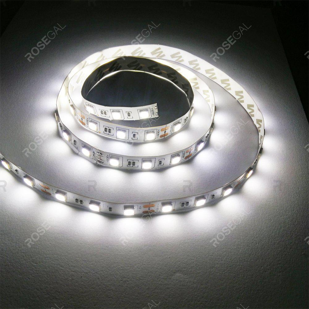 ZDM 1M DC 12V 15W 60 x 5050 SMD Light LED StripHOME<br><br>Color: COLD WHITE LIGHT; Type: LED Strip Light; Length ( m ): 1; Light color: Cool White; Wattage (W): 15; Voltage: DC12V; Power Supply: 12V; Features: Festival Lighting,Linkable; Width( mm ): 10mm; Waterproof Rate: IP20; Light Source: 5050 SMD,LED; Beam Angle: 120; LED Quantity: 60; Color Temperature or Wavelength: RGB;