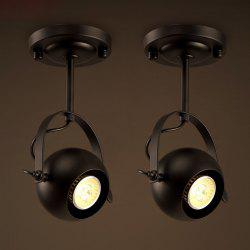 Lanshi D - 8088 Vintage Metal Black E26 / E27 Pendant Light 1PC -