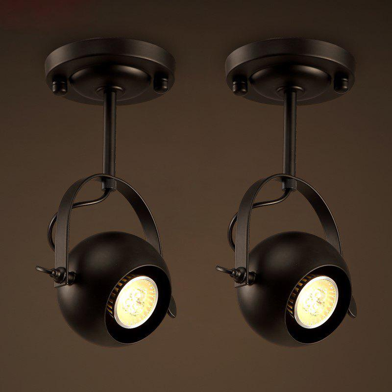 Fashion Lanshi D - 8088 Vintage Metal Black E26 / E27 Pendant Light 1PC