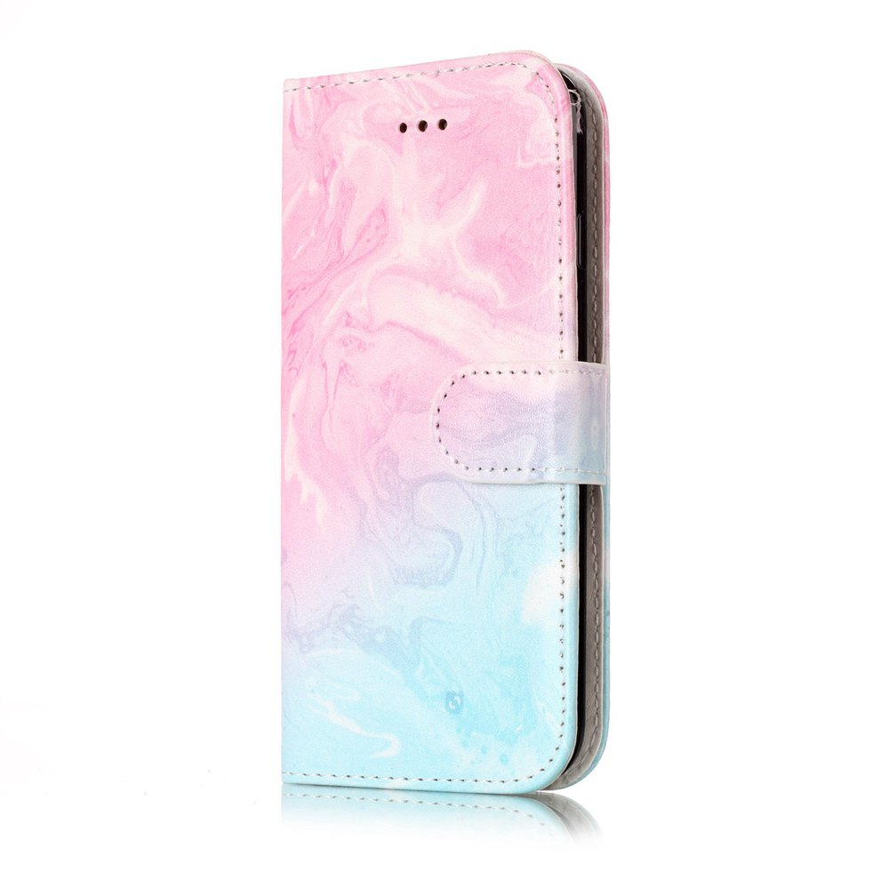 Chic Wkae Marble Leather Wallet Stand Case Cover for iPhone 7 / 8
