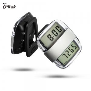 U - Trak CR - 783 Dual LCD Talking Pedometer with Memory -