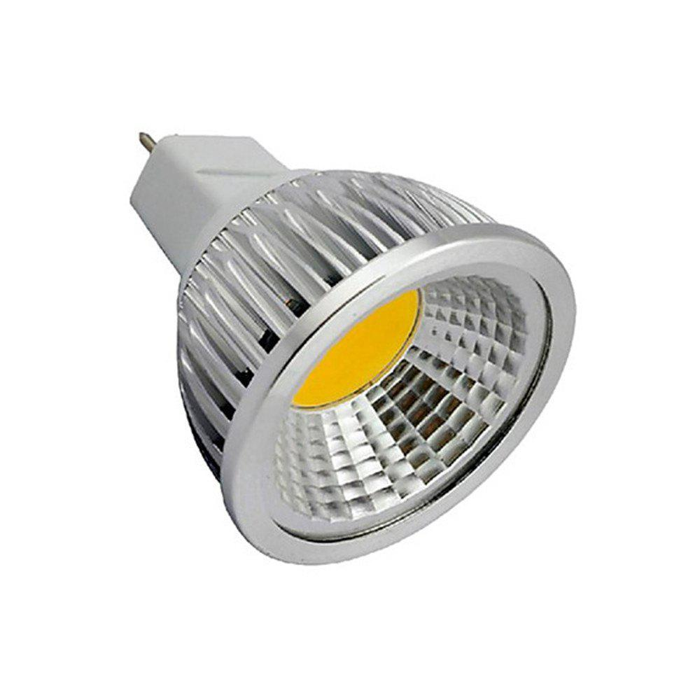 OMTO 4W MR16 ( GU5.3 )  COB LED Spotlight 1380LM 3000K DC 12VHOME<br><br>Color: WARM WHITE LIGHT; Brand: OMTO; Type: LED Spotlight; LED Beam Angle: 120 Degree; Wattage: 4W; Voltage: 12V; Connection: MR16; Dimmable: Yes; Initial Lumens ( lm ): 380lm; Color Temperature or Wavelength: 3000K; Material: Aluminum Alloy;
