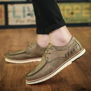 Spring and Autumn Casual Lace Men'S Shoes Business Shoes -