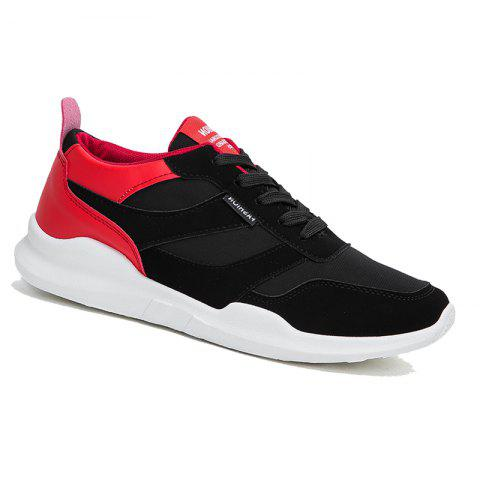 Fashion Autumn and Winter Sports Shoes RED WITH BLACK