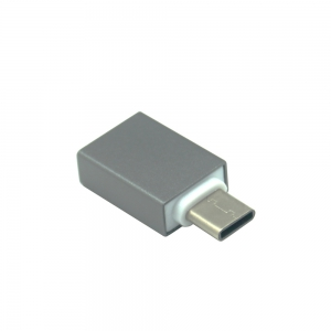 Mini Smile переходник USB 3.1 Type-C Male на USB 3.0 Female OTG адаптер -