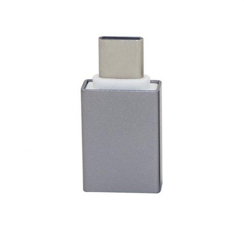 Mini Smile переходник USB 3.1 Type-C Male на USB 3.0 Female OTG адаптер