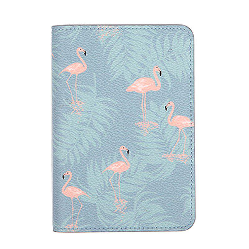 Shops Travel Document Organizer Flower Animal Pattern Passport ID Card Storage Bag