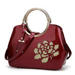 Elegant High-grade Patent Leather Dinner Bag Single-shoulder Female -