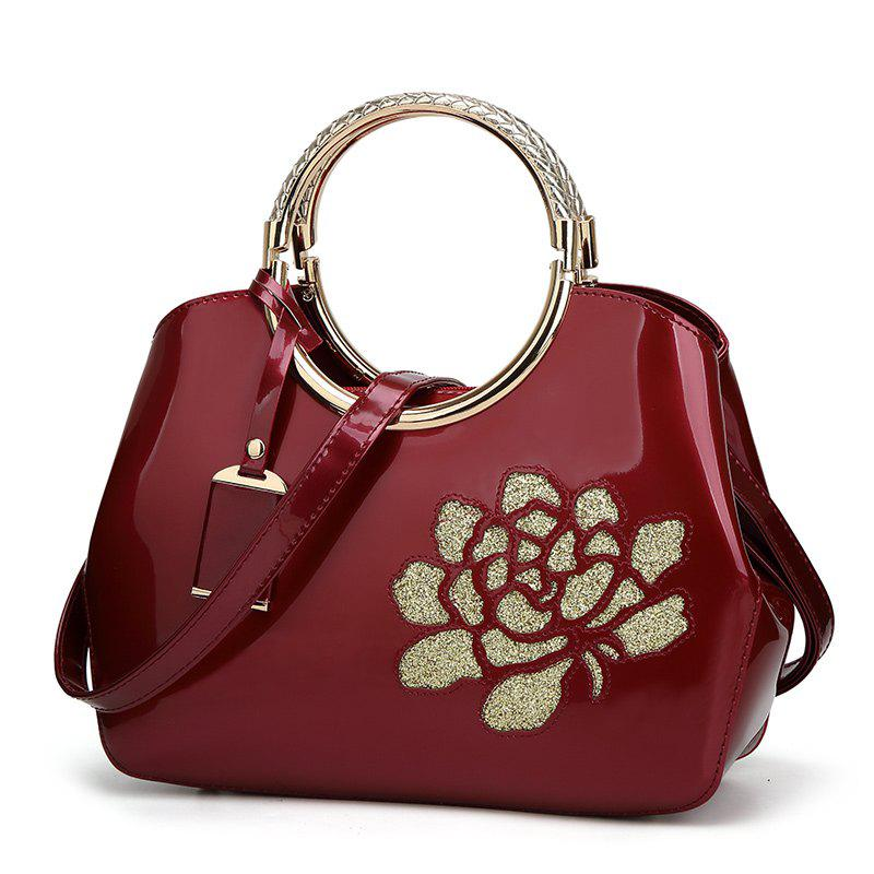 Chic Elegant High-grade Patent Leather Dinner Bag Single-shoulder Female