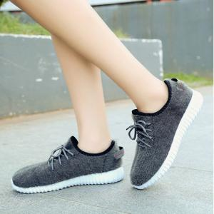 2017 New Lace Suede Comfortable Casual Shoes -