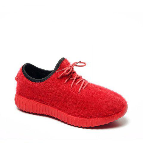Sale 2017 New Lace Suede Comfortable Casual Shoes