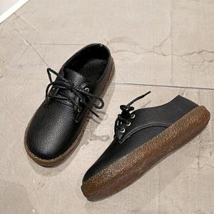 MS Dichotomanthes Bas Flat Strap Chaussures plates -