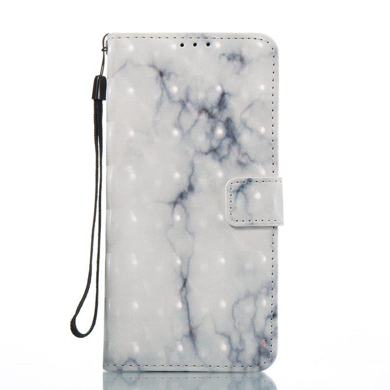 Shops 3D Marble Pattern Painted Pu Phone for Samsung Galaxy S8 Plus