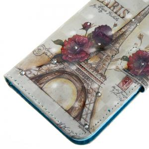 New 3D Painting Point Drill Phone Case for LG LS775 / Stylus 2 -