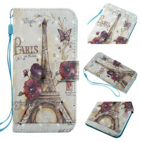 Latest New 3D Painting Point Drill Phone Case for LG LS775 / Stylus 2