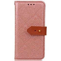 European Style Card Lanyard Pu Leather for Samsung J530 -