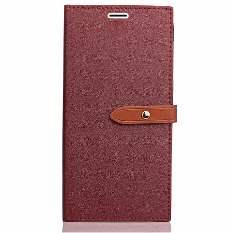 Affordable Simple hasp Card Lanyard Pu Leather for Asus ZD552kl