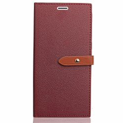 Simple hasp Card Lanyard Pu Leather for Asus ZD552kl -