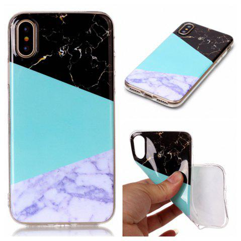 Wkae Soft TPU couleur impression protection Shell Shell pour iPhone X