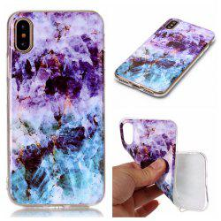 Wkae Soft TPU Color Printing Protective Shell Cover for iPhone X -