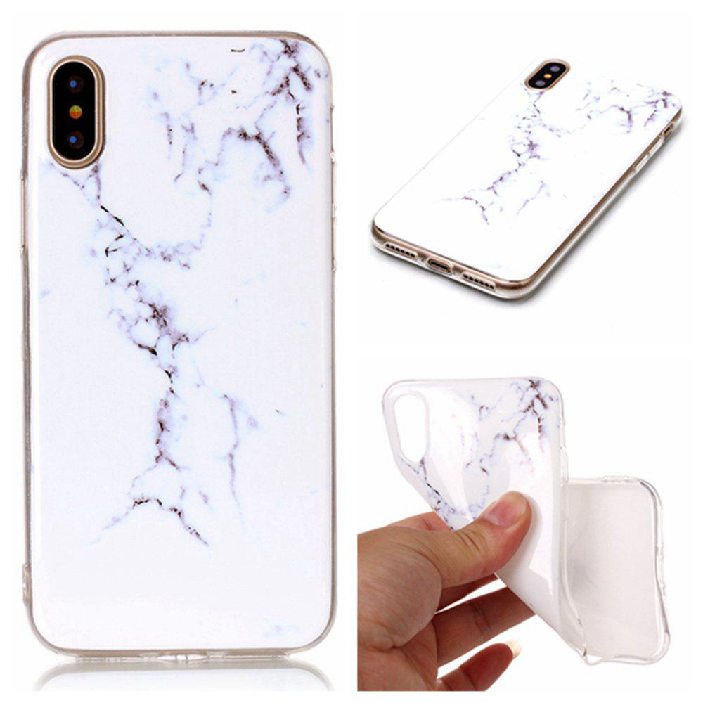 Latest Wkae Soft TPU Color Printing Protective Shell Cover for iPhone X