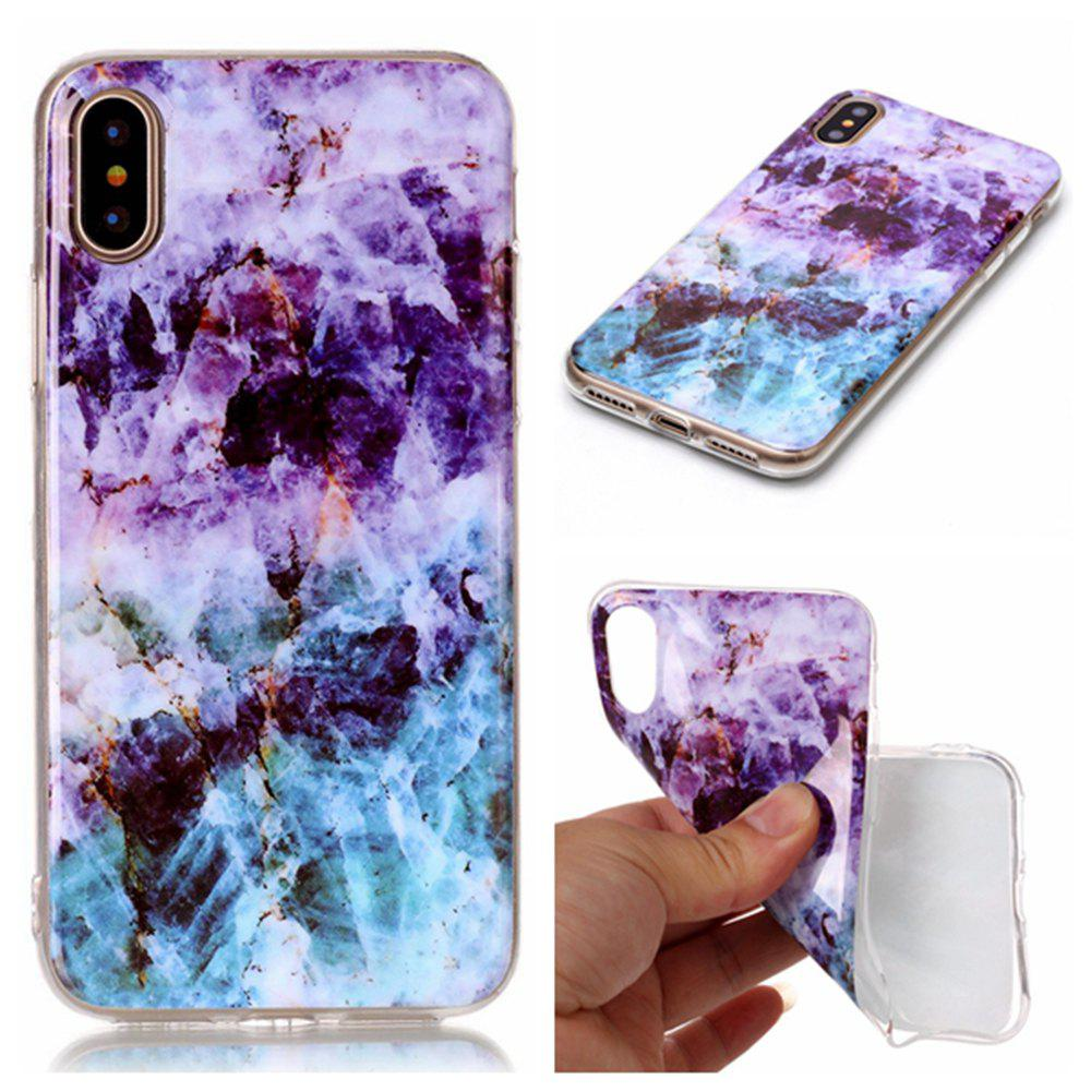 Sale Wkae Soft TPU Color Printing Protective Shell Cover for iPhone X