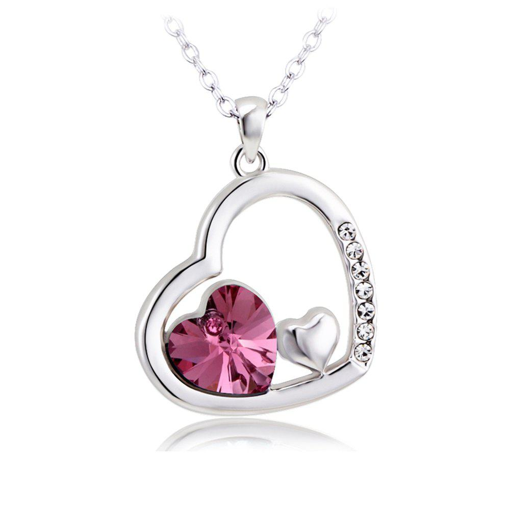 Discount 10k Gold Diamond Heart Pendant lovely Necklace for Women