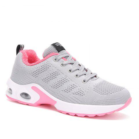 Fashion New Women's Running Shoes Fashion Sneakers Mesh Breathable Casual Sport