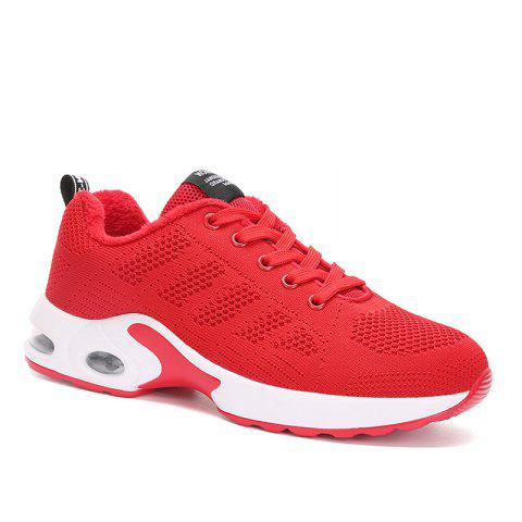 Trendy New Women's Running Shoes Fashion Sneakers Mesh Breathable Casual Sport