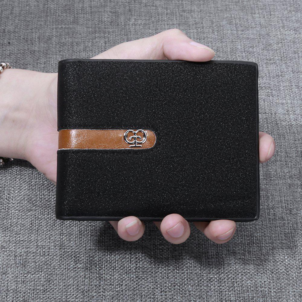Unique JPT-1031 Men'S Wallet Business Fashion Short Hinge with Multi Card Wallet