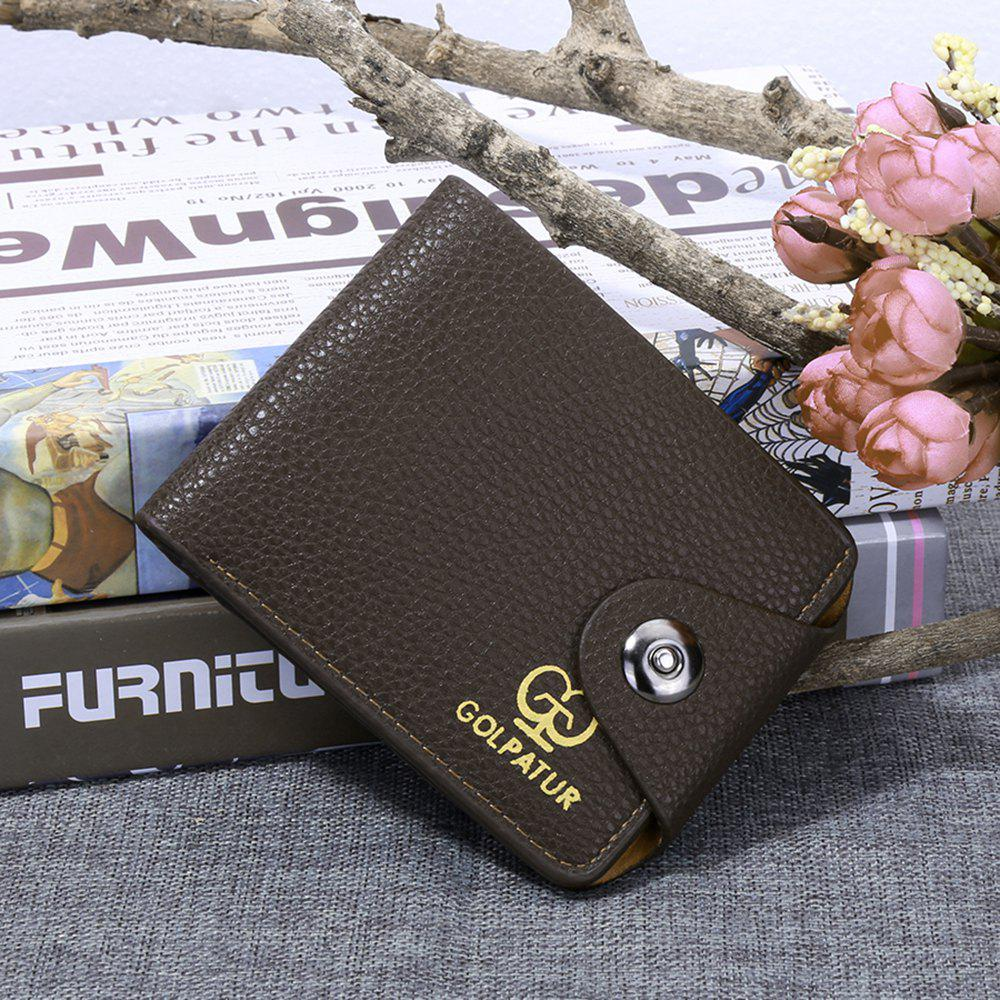 New JPT-9003 Magnetic Buckle Man Purse Short Band Bag Leisure Card Wallet