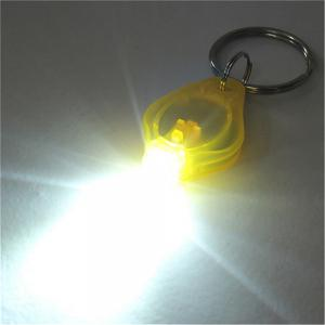 Mini LED Keychain Flashlight Keyring Torch 10PCS -