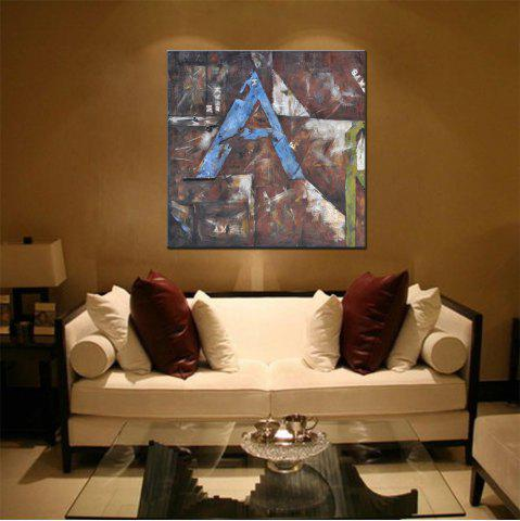 Buy Hua Tuo Abstract Oil Painting Size 70 x 70CM HT - 5357