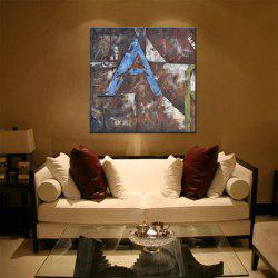 Hua Tuo Abstract Oil Painting Size 70 x 70CM HT - 5357 -