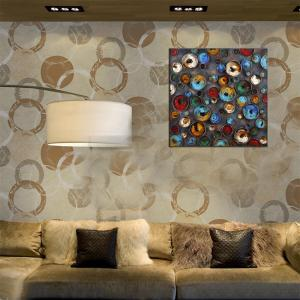 Hua Tuo Abstract Oil Painting Size 70 x 70CM HT - 5358 -