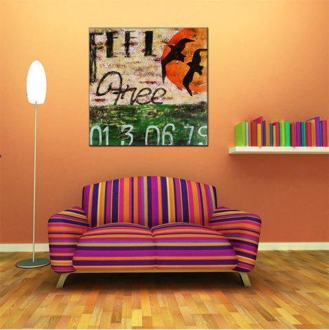 Latest Hua Tuo Abstract Oil Painting for Home Dector
