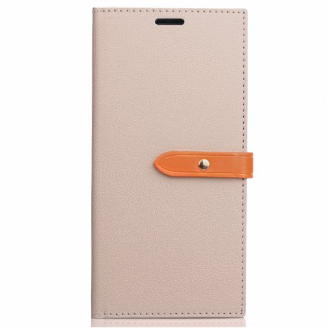 Sale Velcro Business Card Lanyard Pu Leather for Samsung J720(2017)