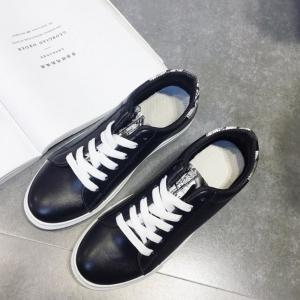 2017 Casual Mens Blanc Chaussures -