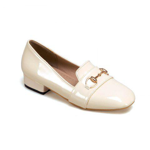 Chic The New Style of Low-Heeled Ladies' Shoes with Shallow Loafers