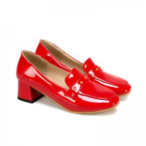 The New Style Square Head  Fashionable Women's Shoes -