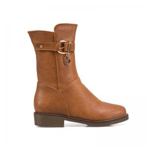 New Autumn and Winter Low Heel of The European and American Style Female Boots -