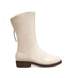 The New Style Low Heel Fashion A Pair of Boots -