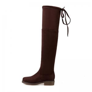 The New Bold and Round Head Sexy Show Thin Female Boots -