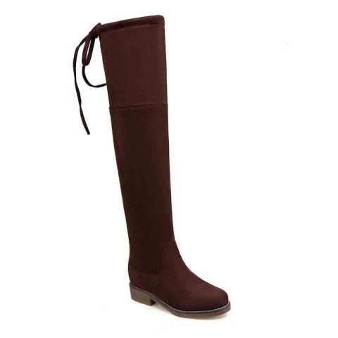 Latest The New Bold and Round Head Sexy Show Thin Female Boots